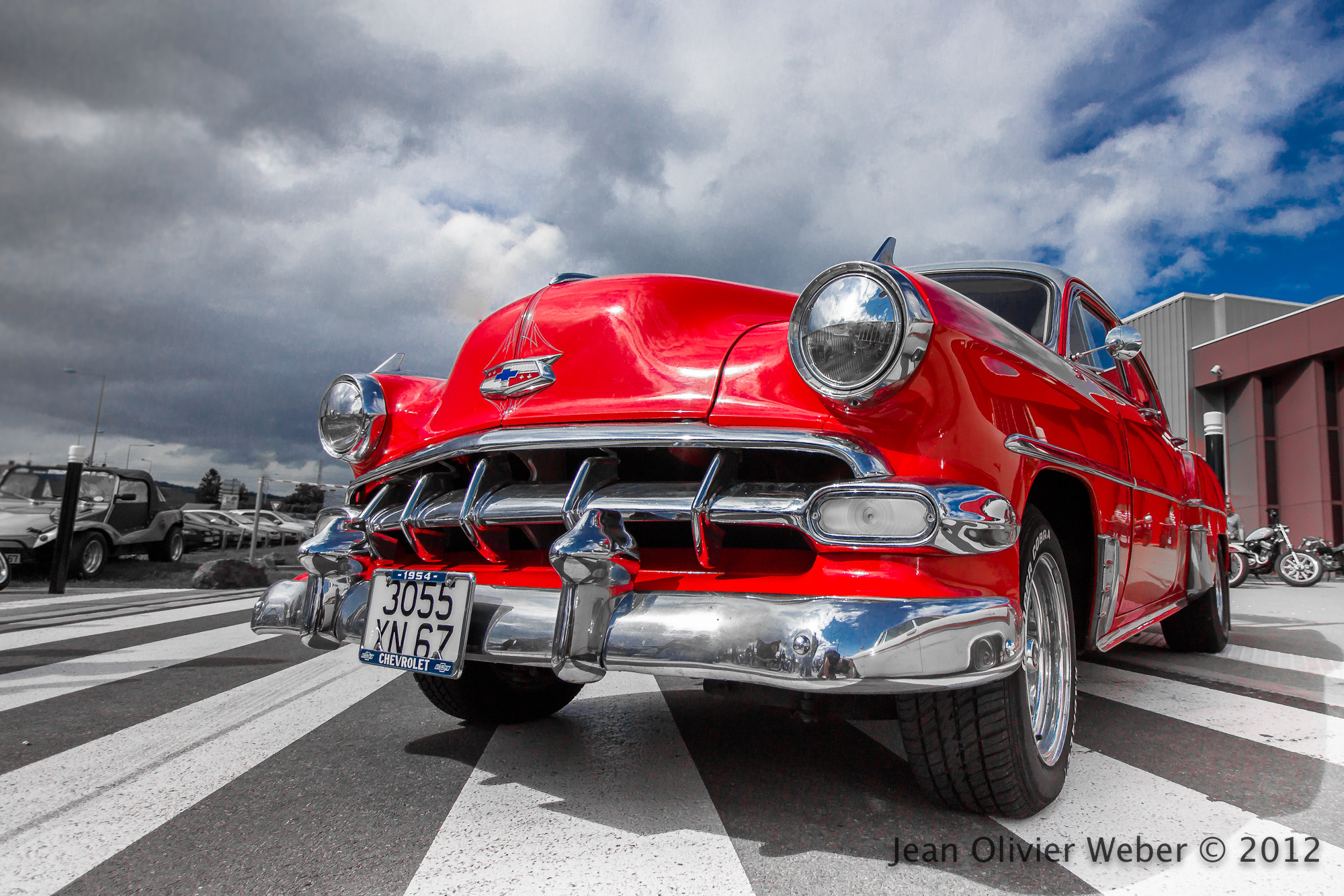 Photograph Chevy 1954 by Jean Olivier Weber on 500px