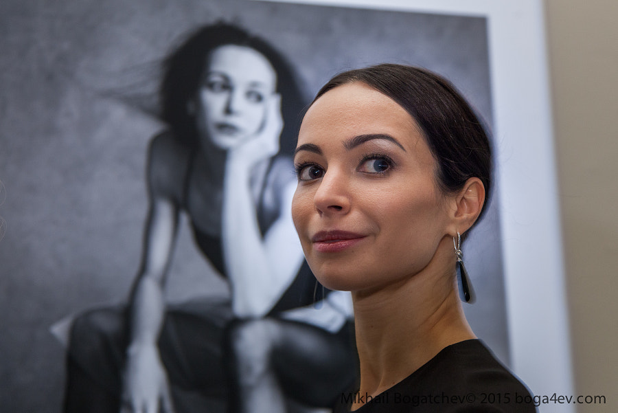 Diana Vishneva, ballerina.