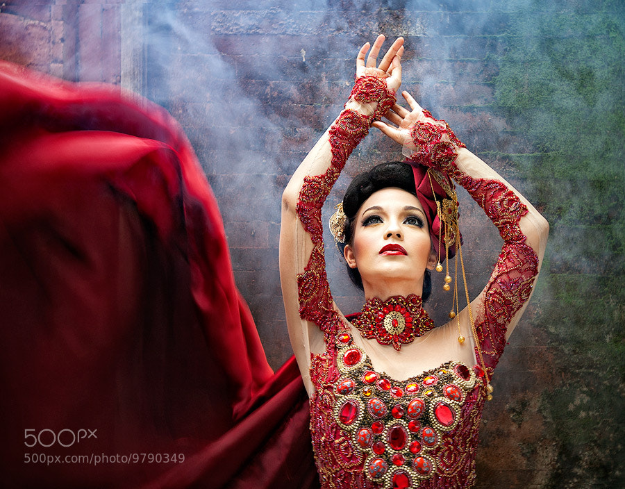 Photograph Lady in Red by Deddy_Heruwanto on 500px