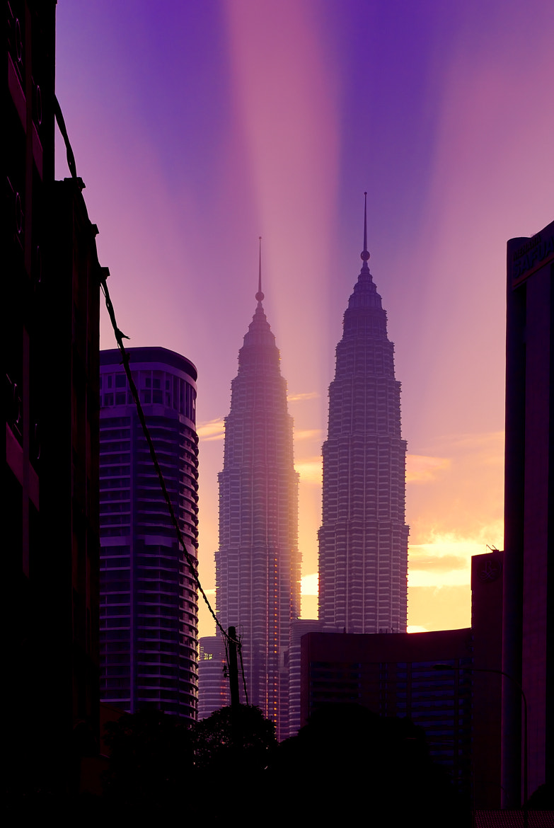 Photograph Twin Towers No.2 by Jim Lee on 500px