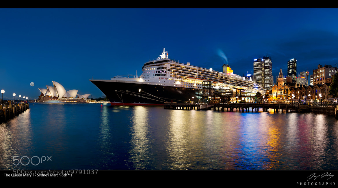 Photograph The Queen Mary ll by Jay Daley on 500px
