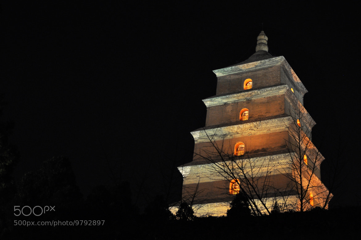 Photograph Big Goose Pagoda by Stuart Slimp on 500px