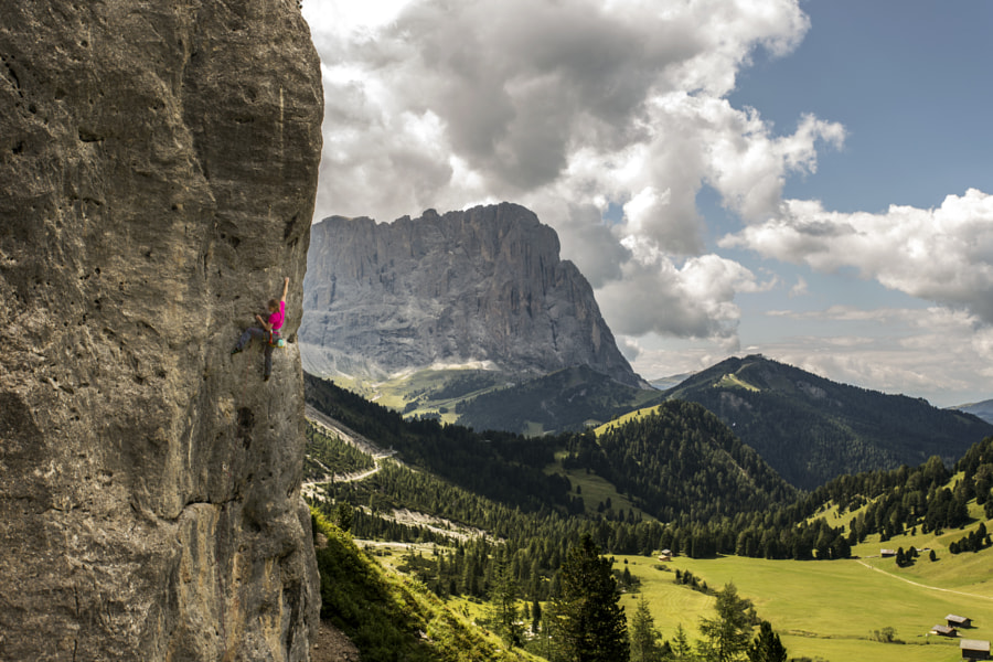 Photograph Climbing at Frea by James Rushforth on 500px