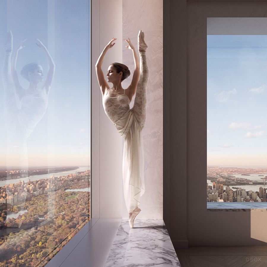 Photograph ballerina in the window by dbox, 432 Park avenue by Vik Tory on 500px