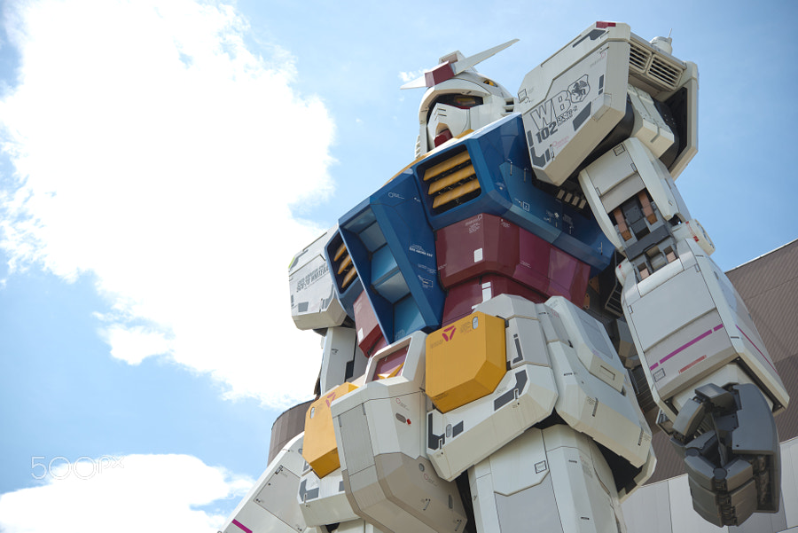 RG 1/1 RX-78-2 GUNDAM Ver. GFT by koji . (acqua_alta) on 500px.com