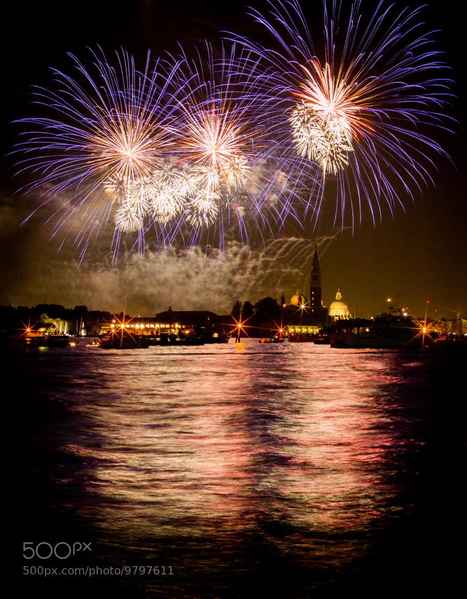 Photograph Redentore 2012 - Fireworks in Venice by Roberto D'Antoni on 500px