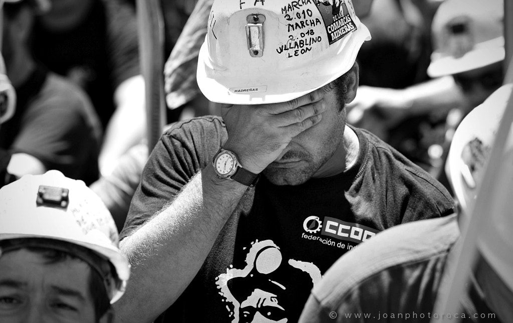 Photograph Miners' strike Spain July 2012 4 by Joan Roca Febrer on 500px