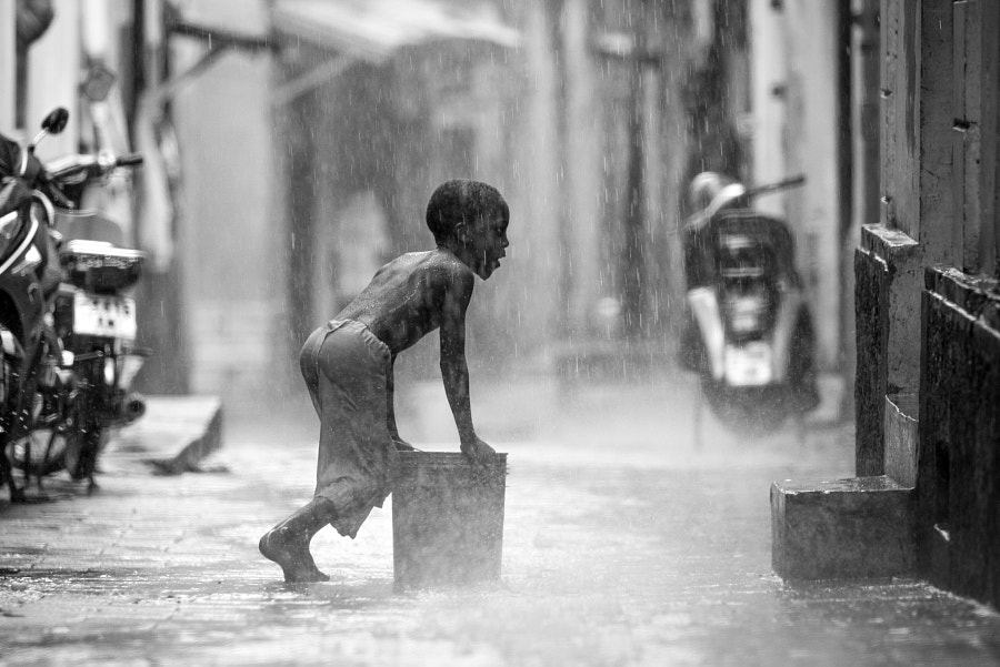 Collecting Water by Rob ONeill on 500px.com