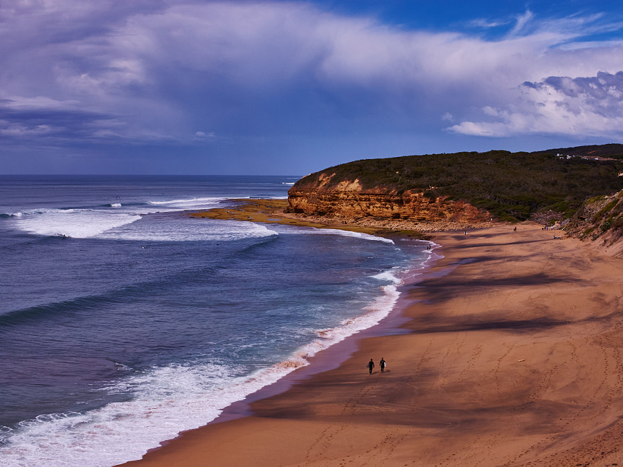 Photograph Bells Beach, Victoria Australia by Travis Chau on 500px