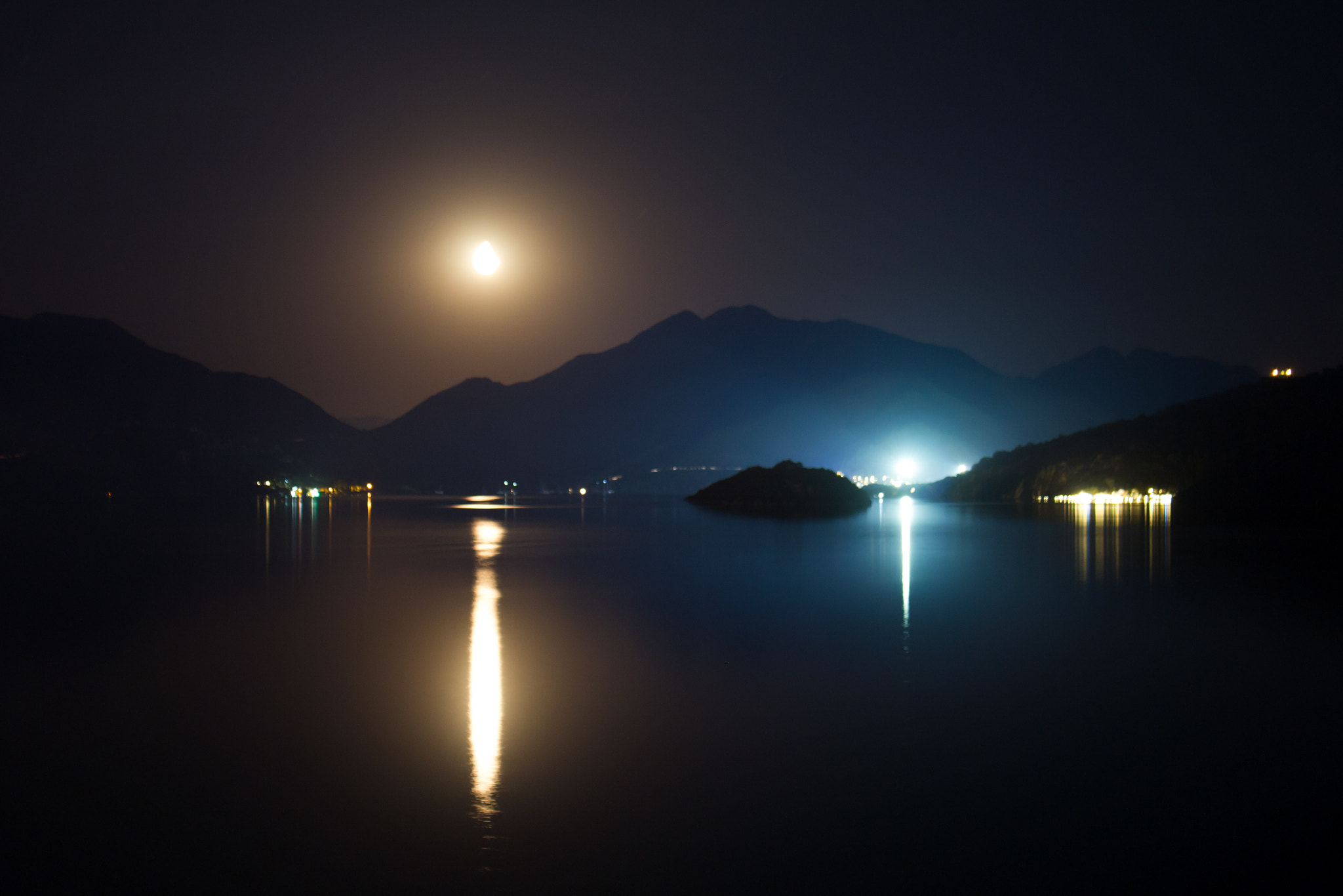 Photograph Moon over Marmaris by Pete Griffiths on 500px