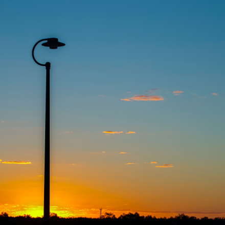 Lamp-post Sunset