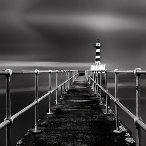 Photograph Amble Lighthouse by David Lowe on 500px