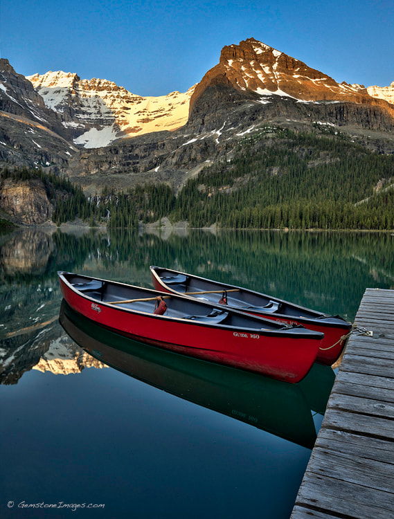 Photograph Boat Dock - Repost in correct colour space by Scott Dimond on 500px