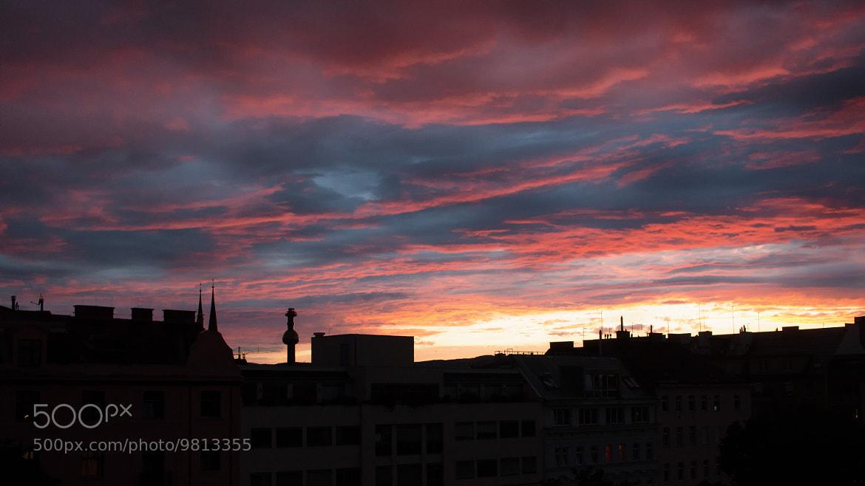 Photograph Vienna burning by Stefan Steinbauer on 500px