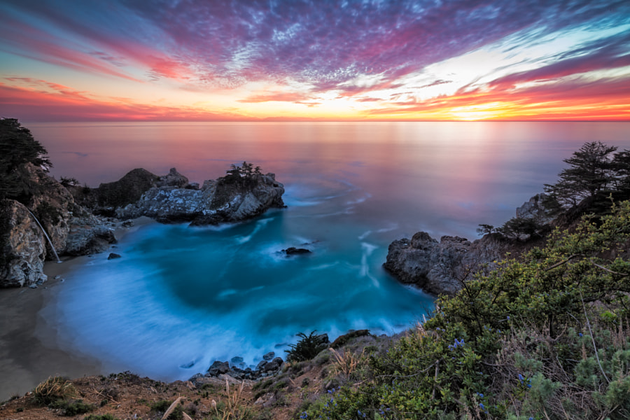 Photograph McWay Falls Brilliance by Evan Kokoska on 500px