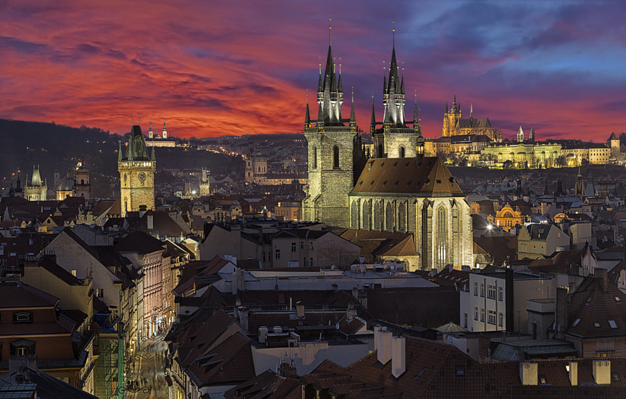 My dreamed Prague by Carlos Luque on 500px.com