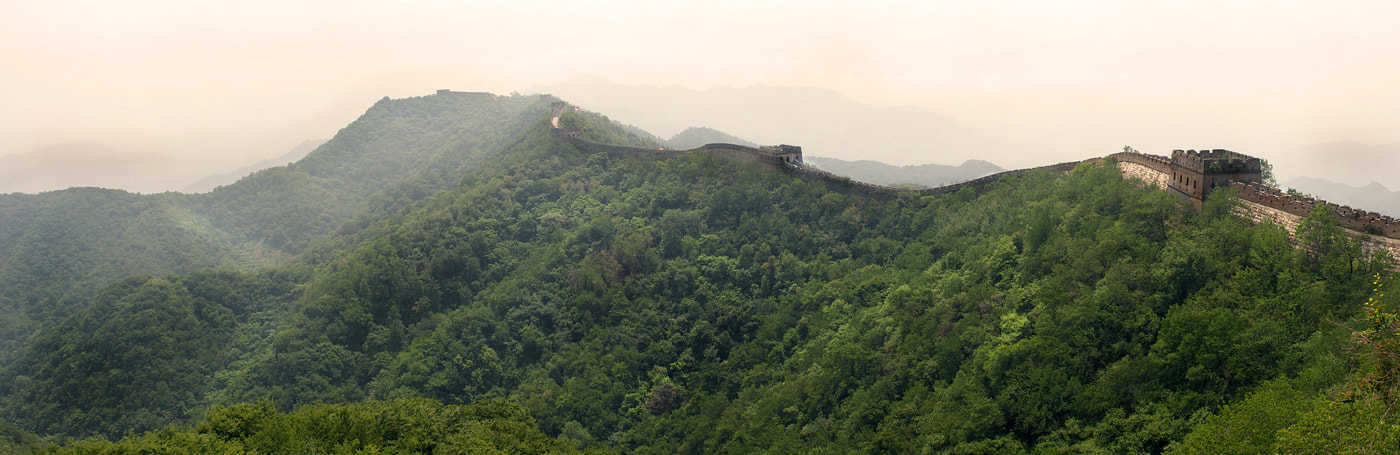 Photograph Mutanyu great wall by Normunds Rustanovičs on 500px