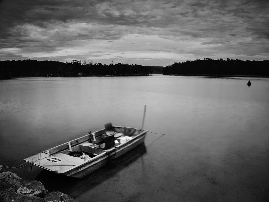Photograph Lake Conjola B&W by Travis Chau on 500px