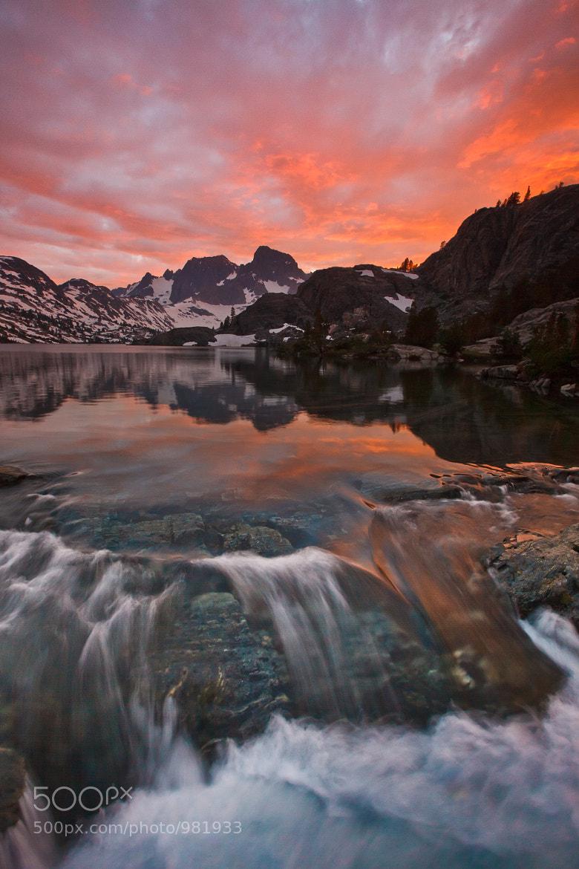 Photograph Ansel Adams Wilderness Sunset by Jeff Sullivan on 500px
