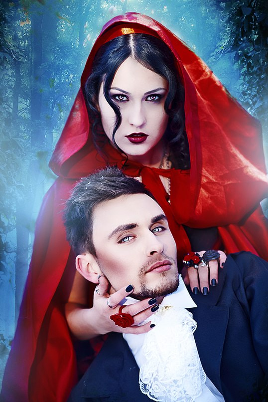 Photograph Red Riding Hood and the werewolf by Alena Kycher on 500px