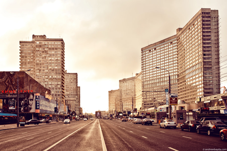 Photograph New Arbat, Moscow by Andrew Bayda on 500px