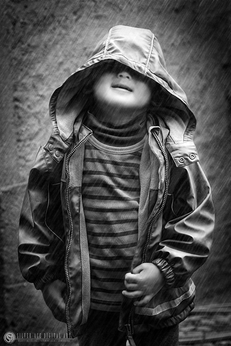Photograph a little rain boy by Carsten Otte on 500px