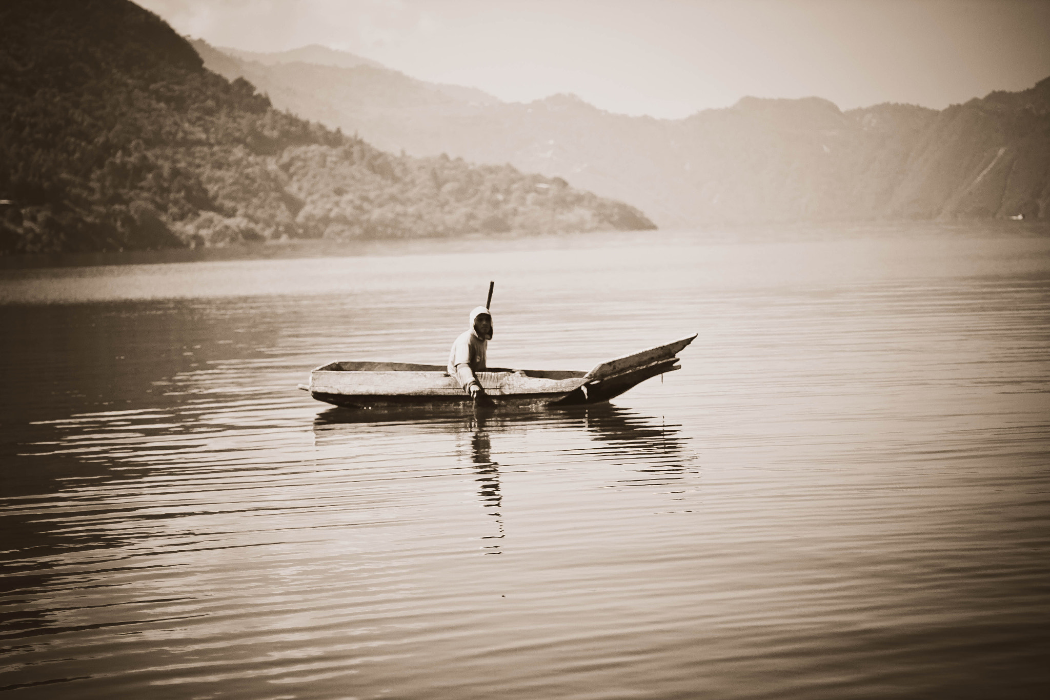 Photograph Lake Atitlan Fisherman. by Jeremy Cupp on 500px