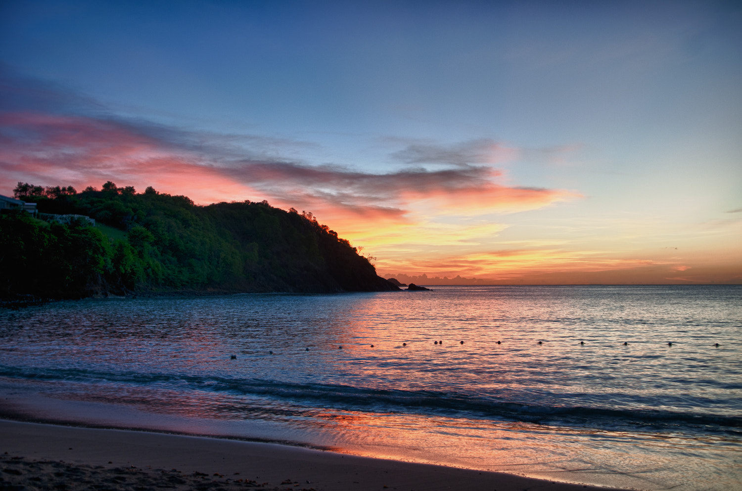 Photograph St Lucia beach sunset by Martin Tyler on 500px