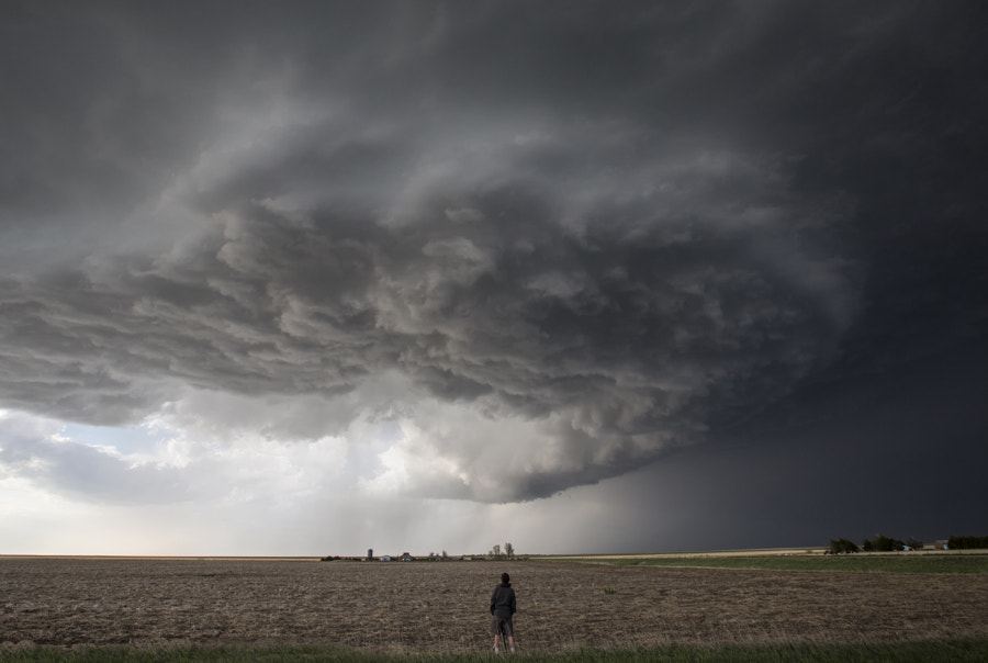 Photograph Watching the Supercell by Kelly DeLay on 500px