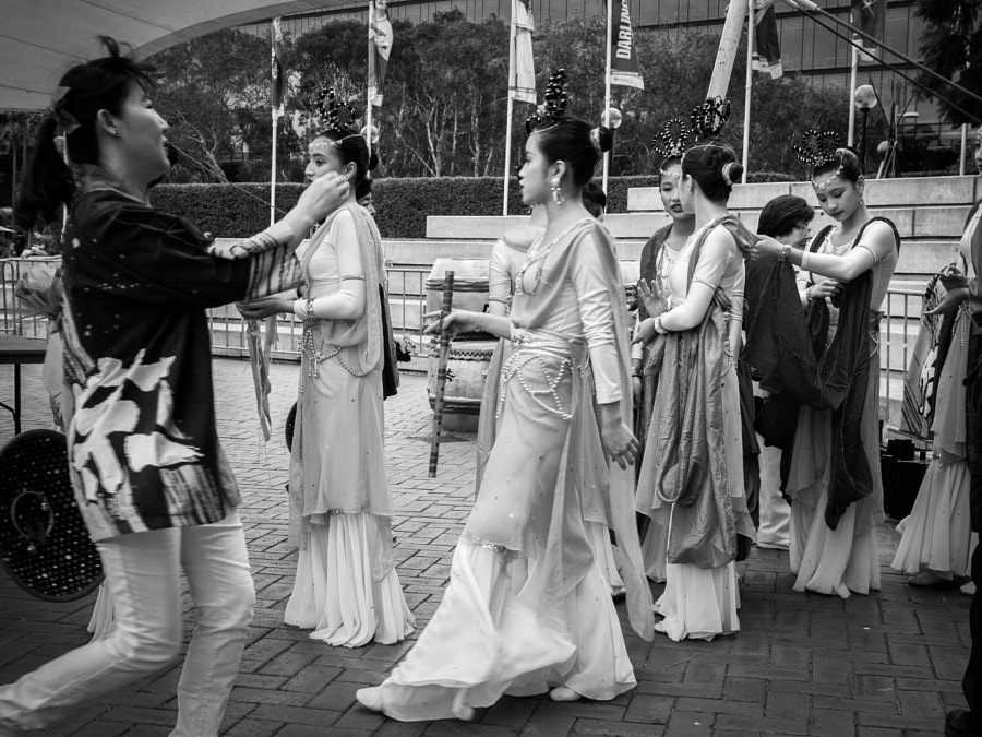Photograph Ancient Chinese  Beauties, Darling Harbour Sydney Australia 2013 by Travis Chau on 500px