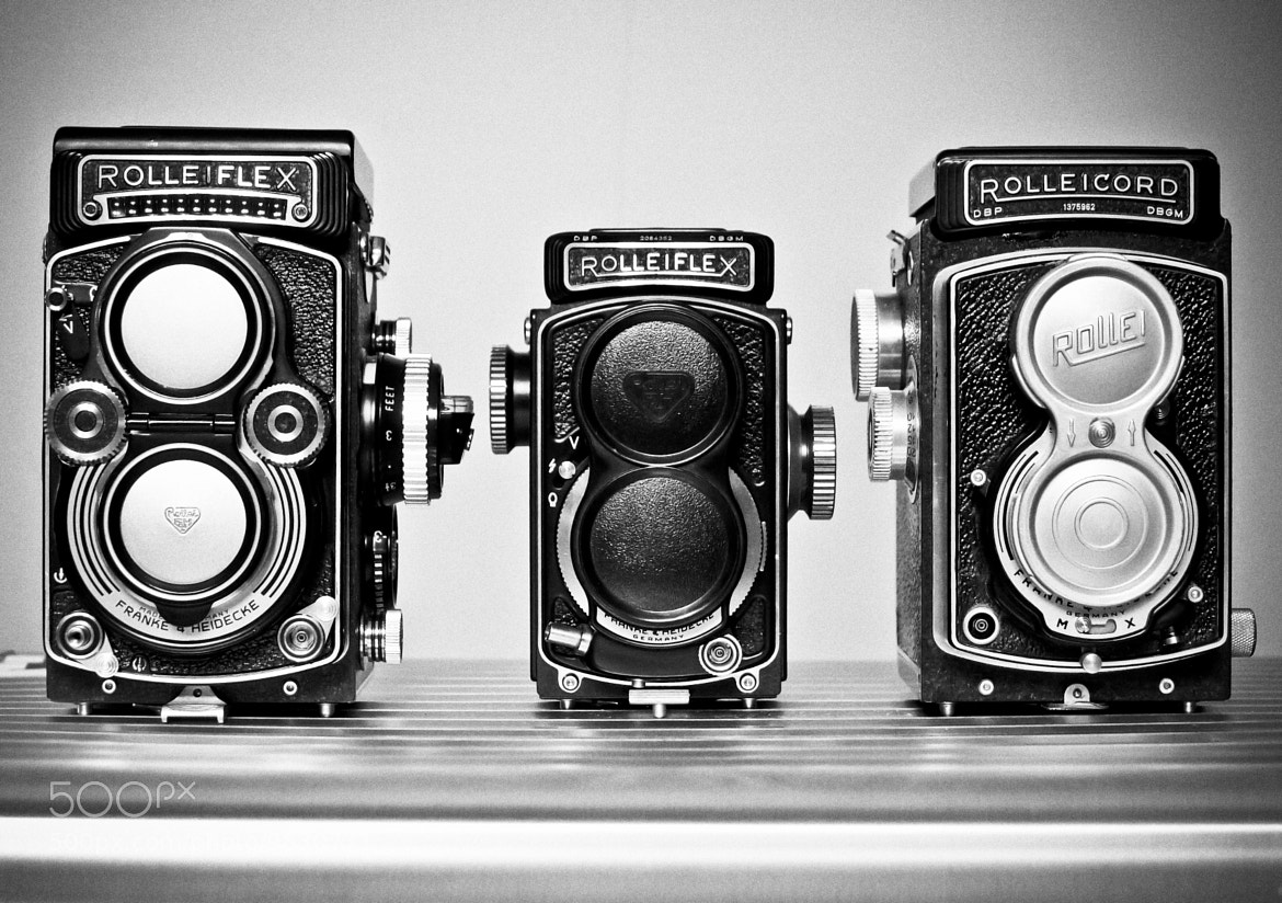 Photograph My New Rollei's by tourmania on 500px