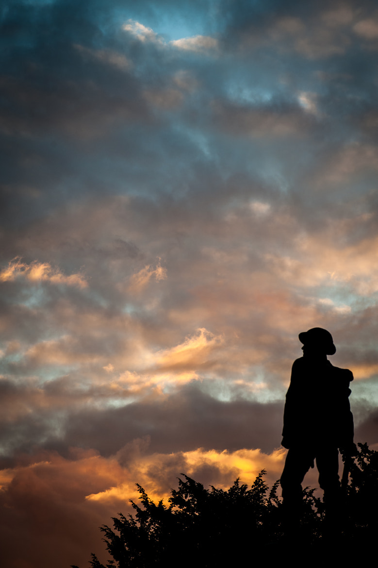 Photograph A Soldier's Sunset by Michael Sherwood on 500px