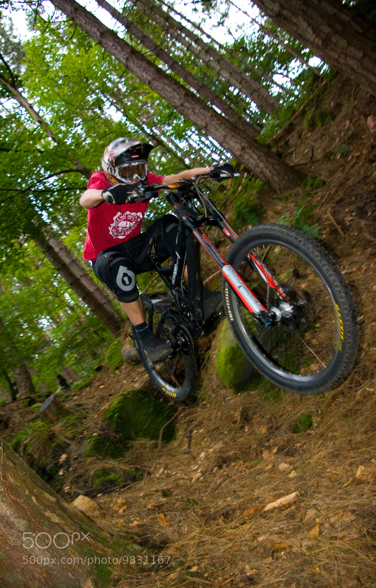 Photograph Downhill MTB by Joel Harratt on 500px