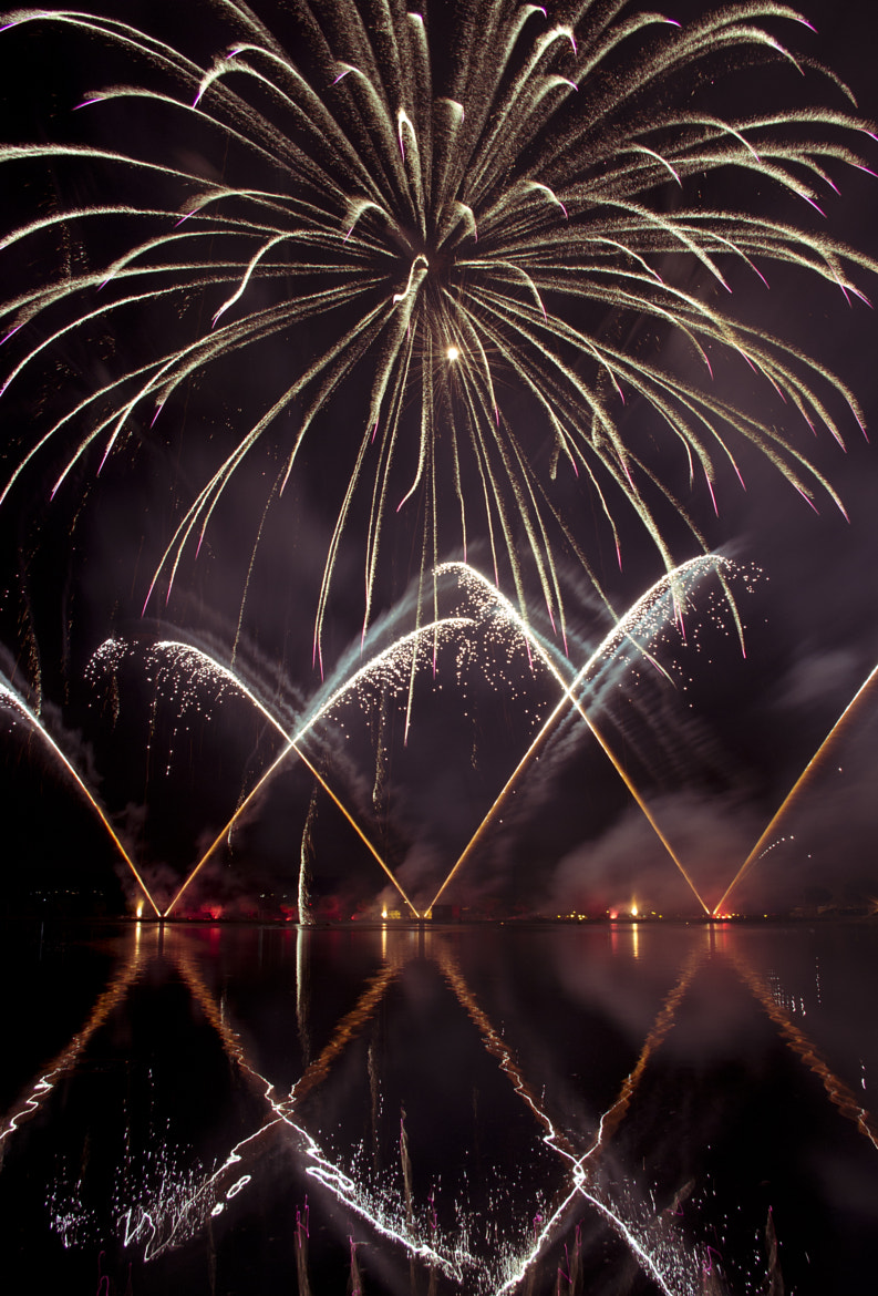 Photograph fireworks III by Manel Camps on 500px
