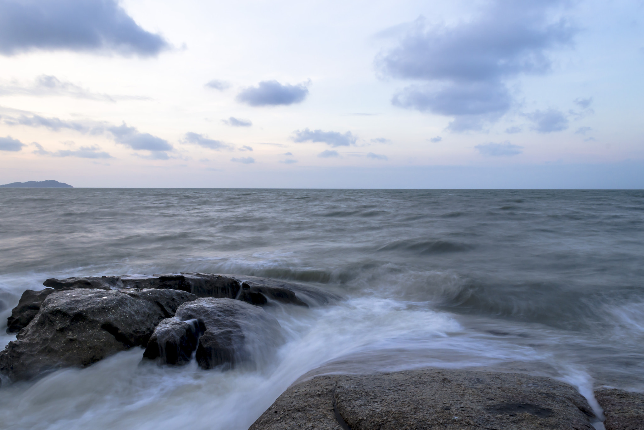 Photograph Rocks and waves by Fotugraphar Quazi on 500px
