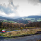 Постер, плакат: Cruising around the Welsh hills