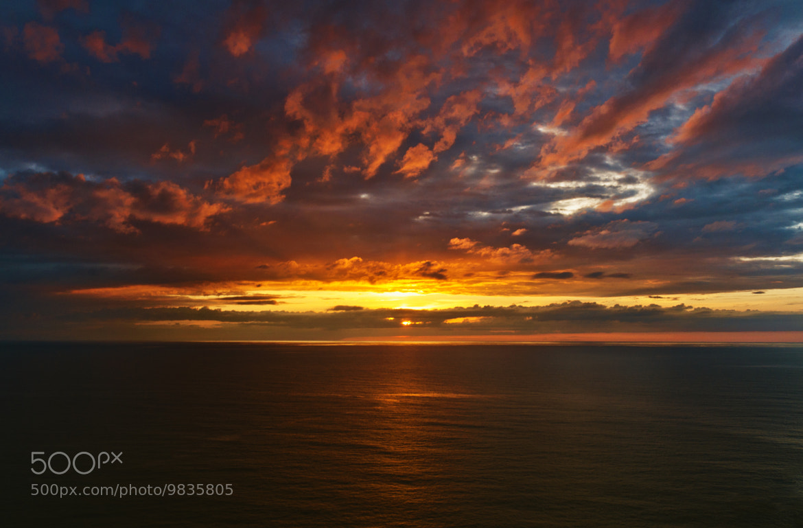 Photograph ocean sunset by Greet V.A. on 500px