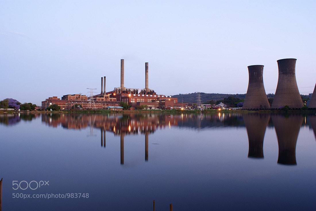 Photograph Power Station At Last Light. by Johannes Christoffel Meintjes on 500px