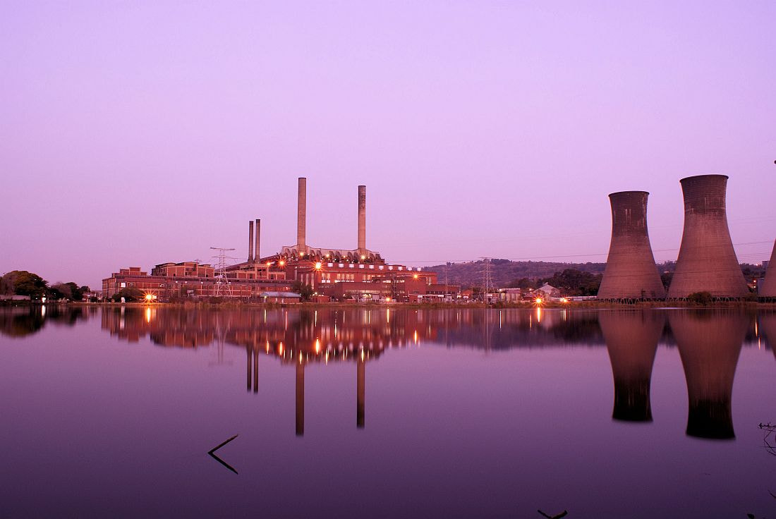 Photograph Power Station At Last Light. by Johannes Christoffel Meintjes on 500px