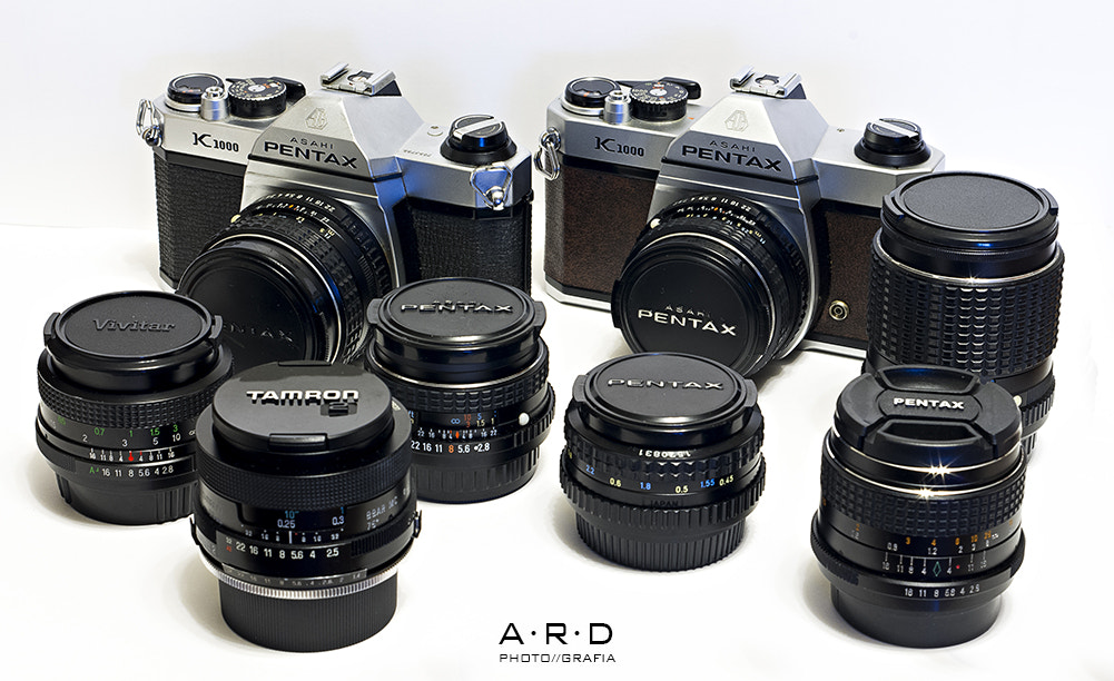 Photograph Pentax, Pentax and more Pentax by Alberto Rodríguez on 500px