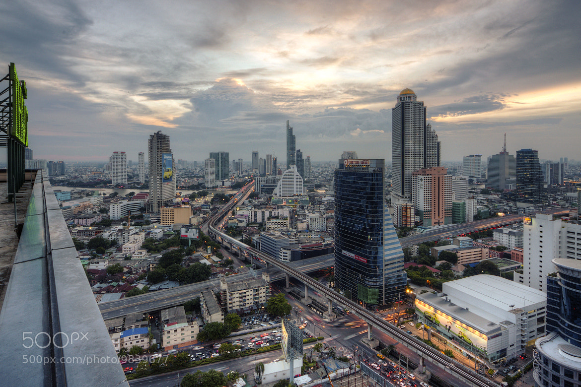 Photograph Bangkok Cityscape by Phadermchai Kraisorakul on 500px