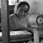 Постер, плакат: Cigar factory girl Habana
