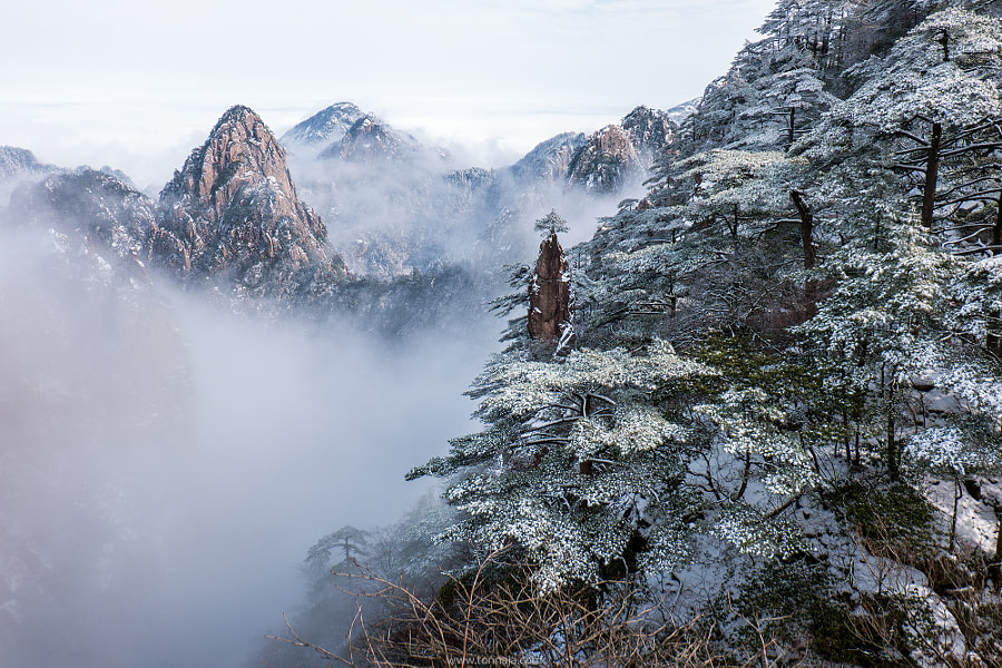 Huangshan in winter season by Tonnaja Anan Charoenkal on 500px.com