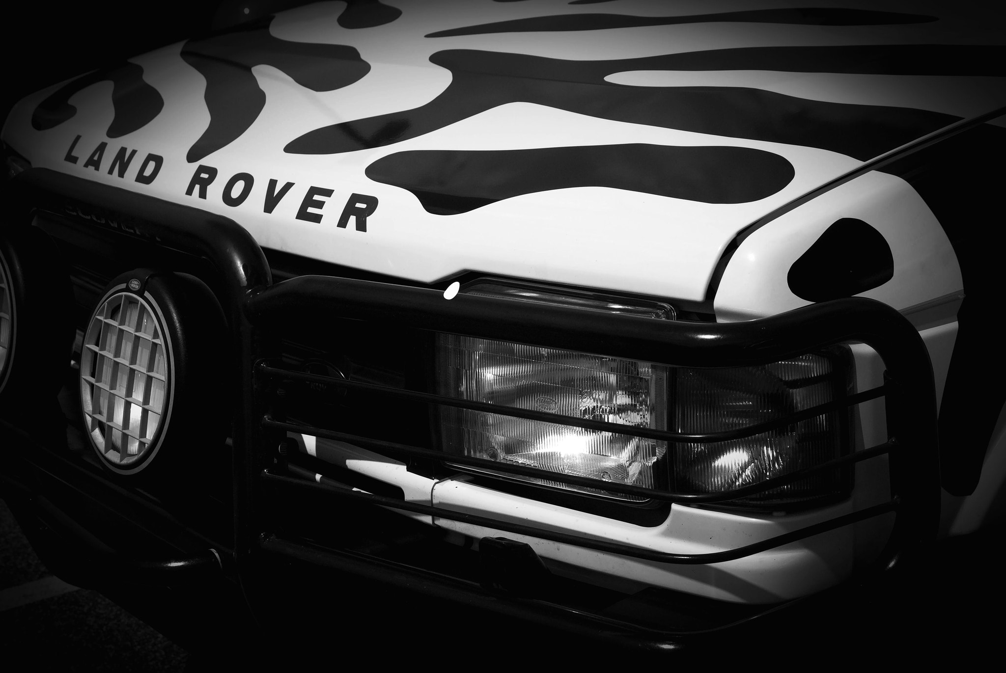 Photograph Land Rover Zebra by Maria Schlossberg on 500px