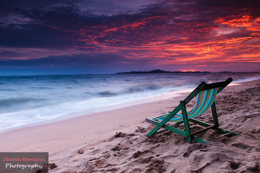 Photograph Front Seat Jomtien Beach by Charles Ramiscal on 500px