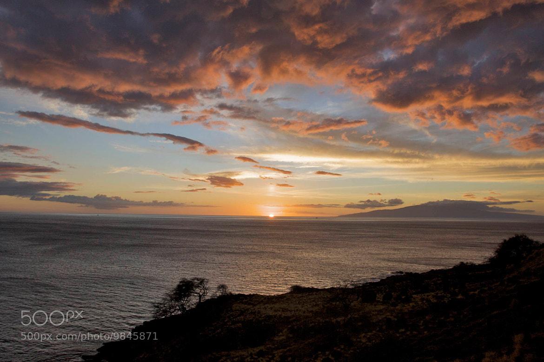 Photograph Sunset, Maui, Hawaii by Jim Ranes on 500px