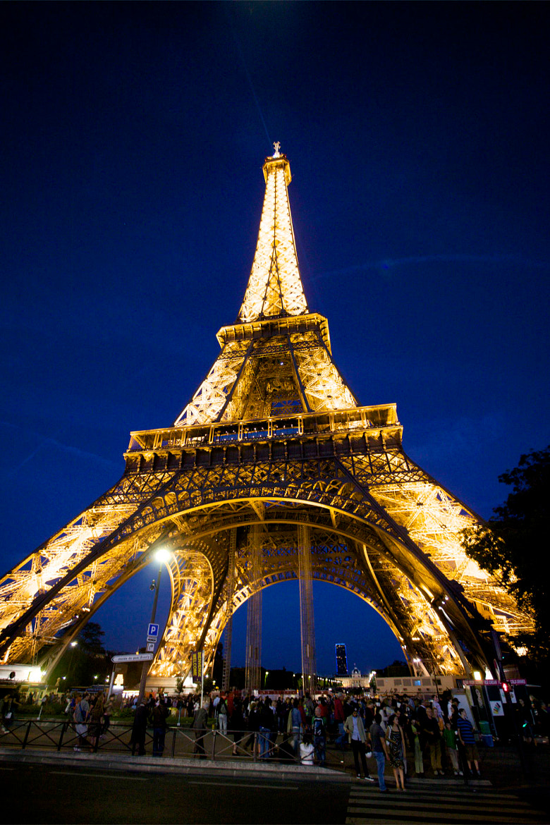 Photograph Close up of the Eiffel Tower by Jim Ranes on 500px