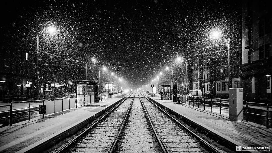 Winter Nights VI by Daniel Koehler on 500px.com