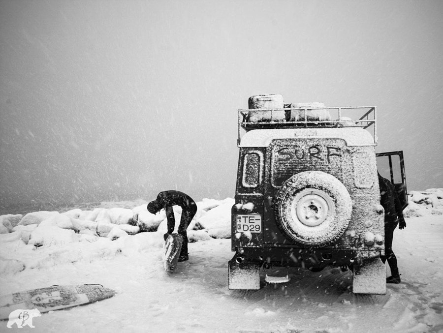Photograph Snow Surf by Chris  Burkard on 500px