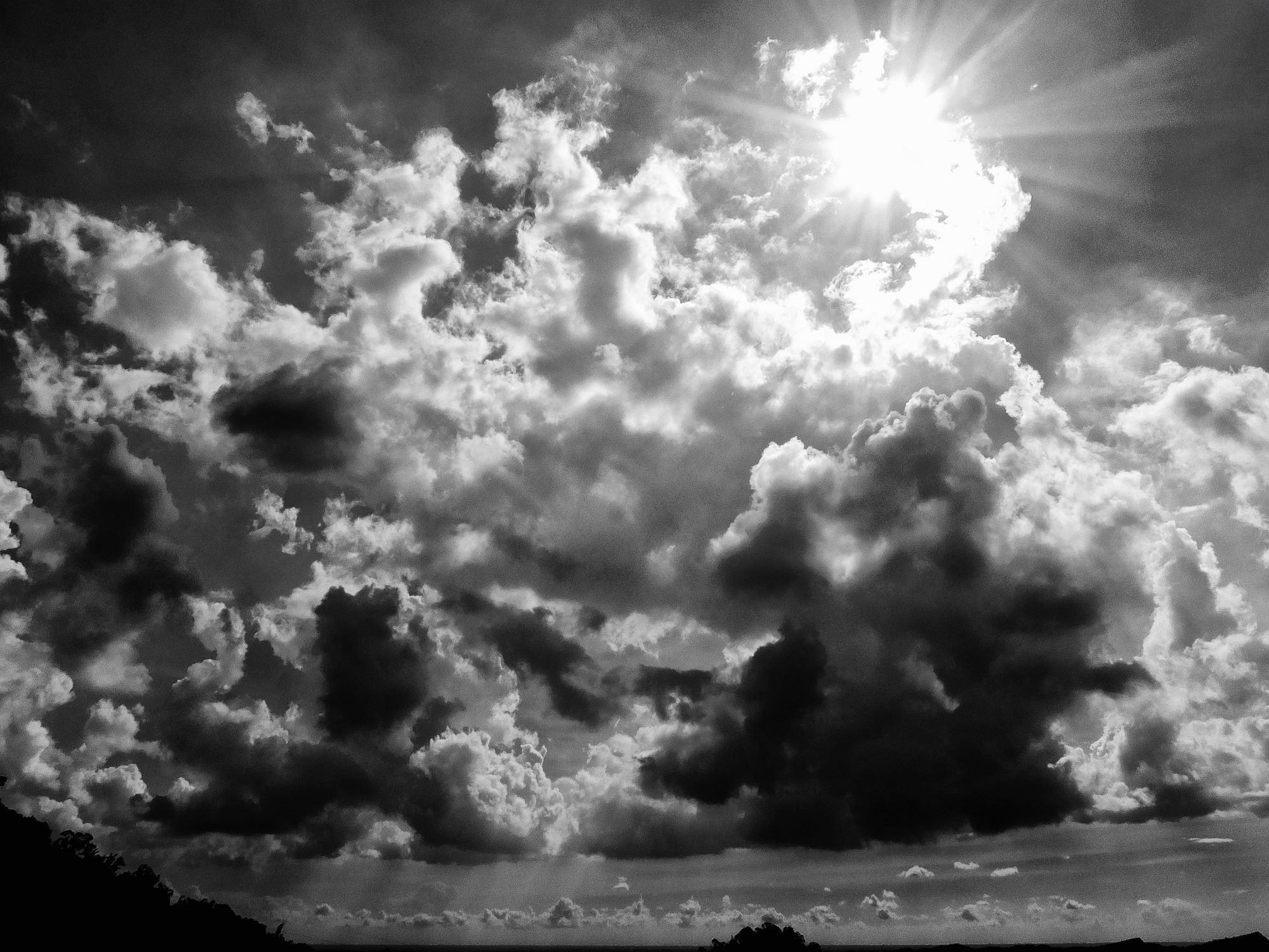 Photograph The most burning and daylight is still hot under the black and white by EastEvil com on 500px